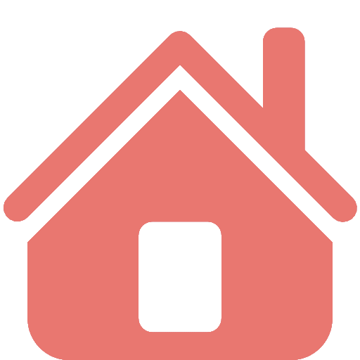 Pale Red Home Icon